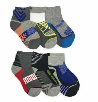 Jefferies Socks Boys Low Cut 6-PK 1169