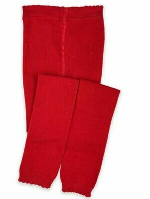 Jefferies Socks Footless Tight Red