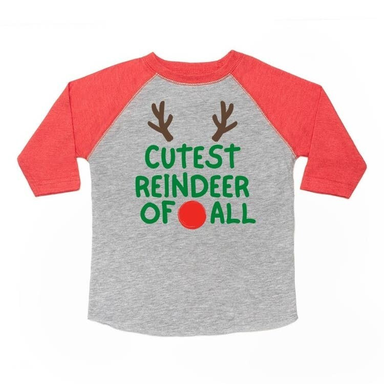 Sweet Wink Cutest Reindeer L/S Shirt