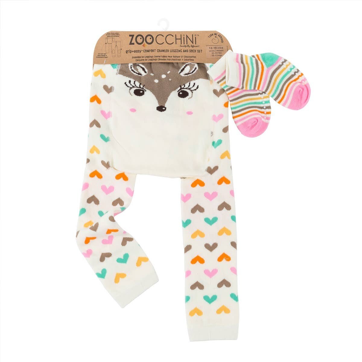 ZooCChini Fiona The Fawn Legging And Sock Set