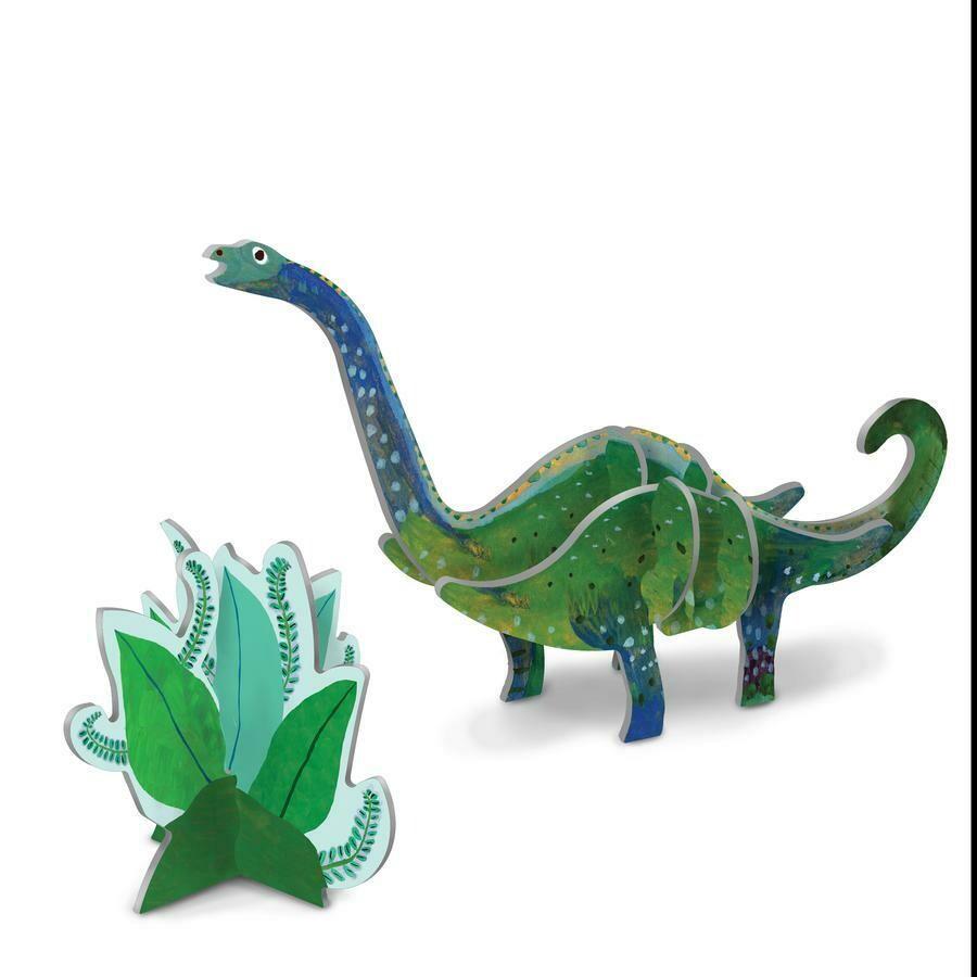 eeBoo 3D Glow In The Dark Diplodocus