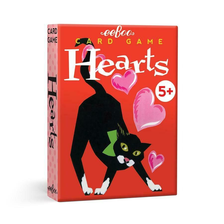 eeBoo Card Game Hearts