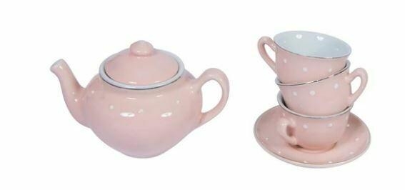 Moulin Roty Il Etait Une Fois Porcelain Tea Set 10pcs