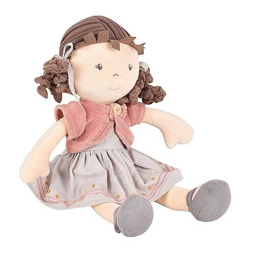 Tikiri Rose- Organic Doll With Brown Hair