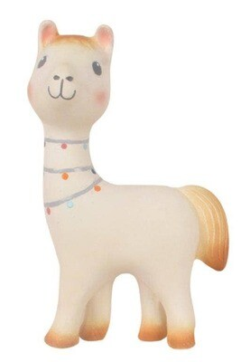Tikiri Lilith The Llama Natural Rubber Teether Toy