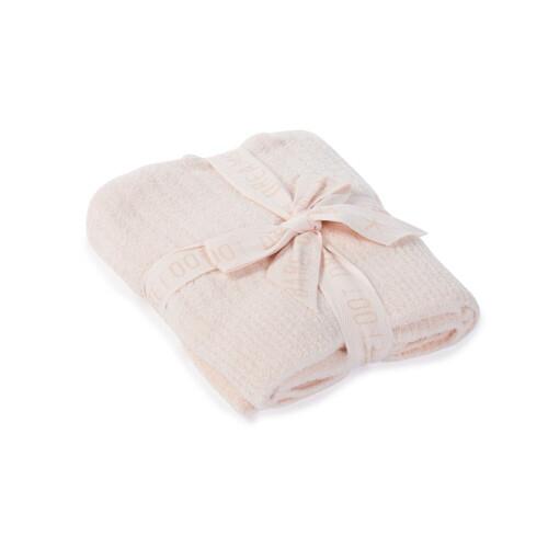 BareFoot Dreams Cozy Lite Ribbed Blanket Pink B467