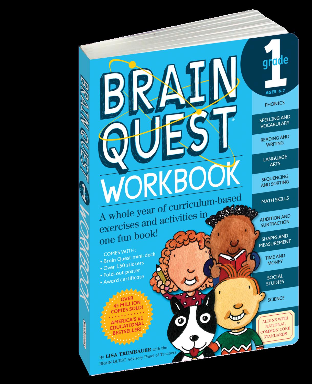 Brain Quest Workbook 1st Grade