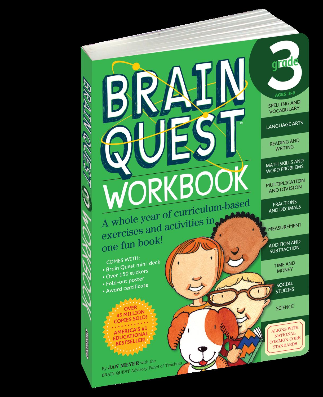 Brain Quest Workbook 3rd Grade