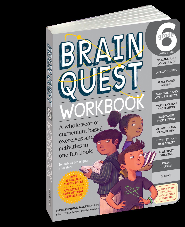 Brain Quest Workbook 6th Grade