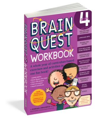 Brain Quest Workbook 4th Grade