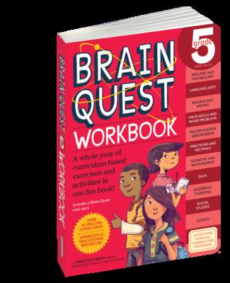Brain Quest Workbook 5th Grade