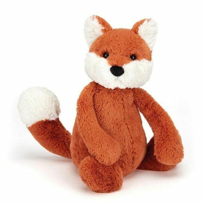 "Jellycat Bashful Fox Small 7"""