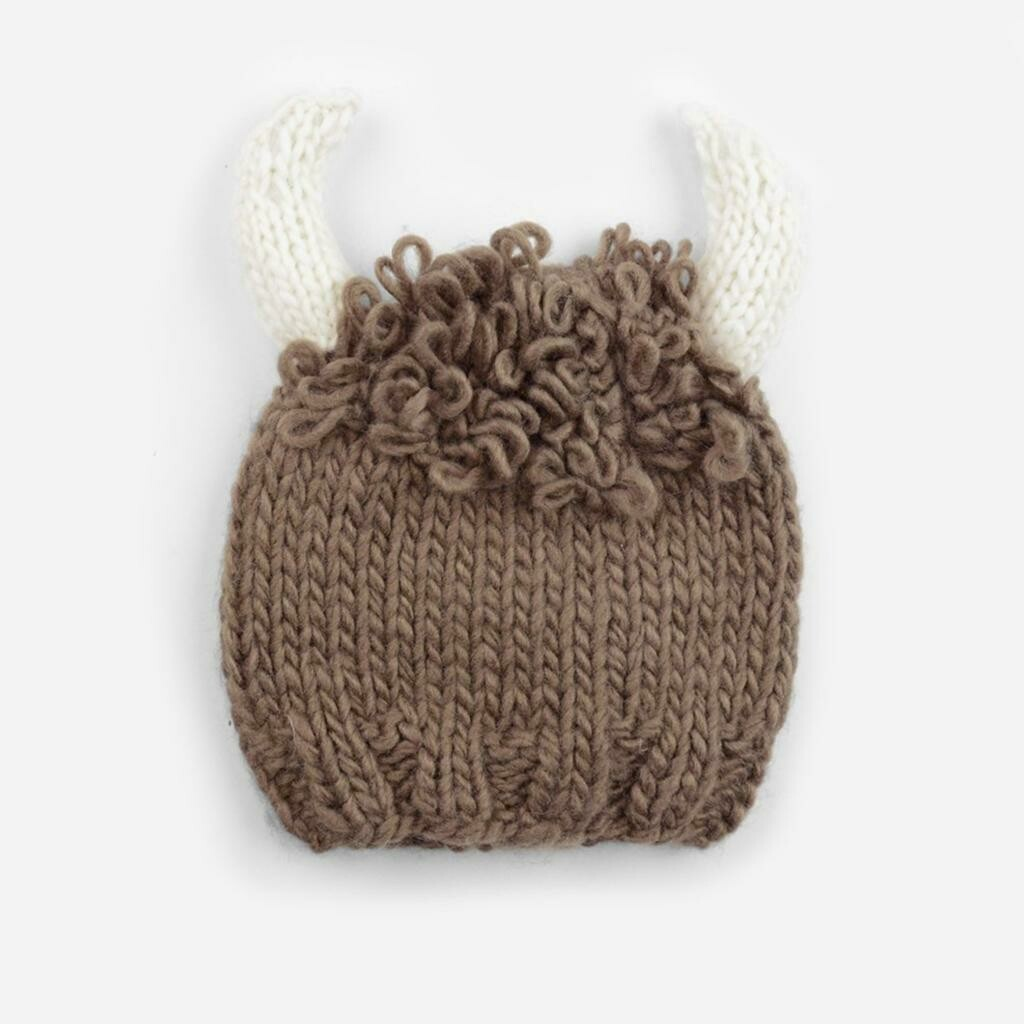 The Blueberry Hill Billy Buffalo Hat 12-24M