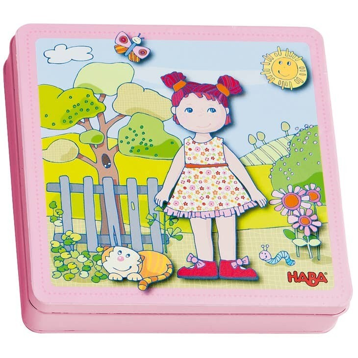 Haba Dress Up Dolly Lilli Magnetic Game