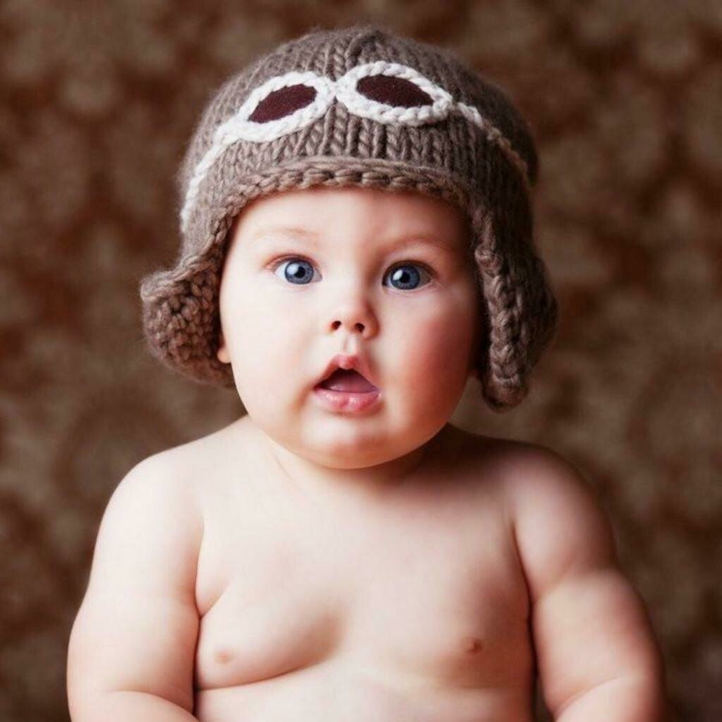 The Blueberry Hill Aviator Hat 3-12M