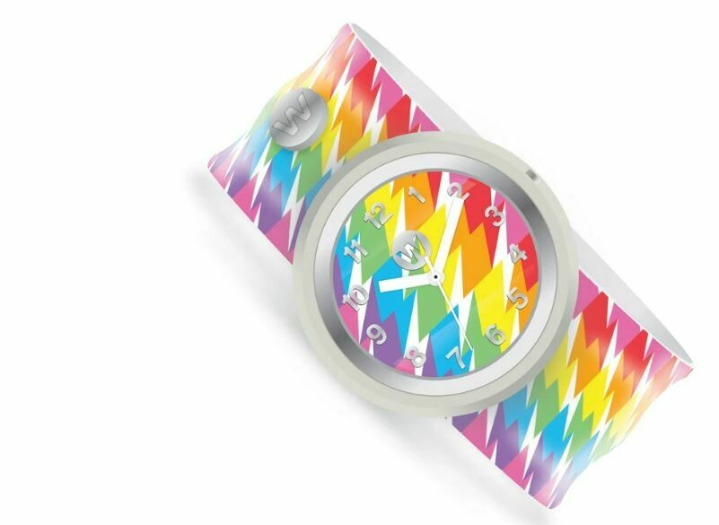 Watercolors Slap Watch 187