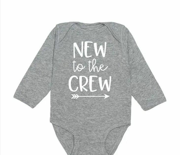 Sweet Wink New To The Crew L/S Bodysuit