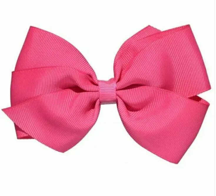 Whitney Queen Grosgrain Bow Bubblegum 5""