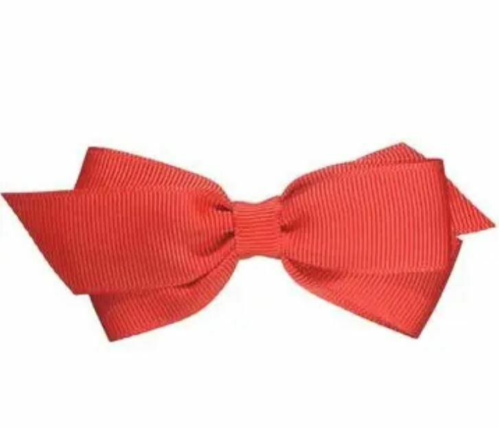 """Whitney Princess Red Bow 3 1/2"""""""
