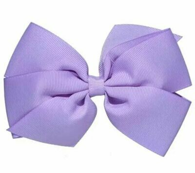 Whitney Queen Grosgrain Bow Lavender 5