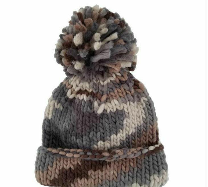 Camo Earth Beanie Hat