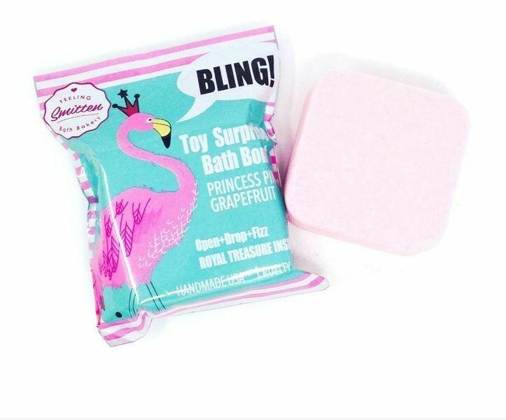 Princess Pink Grapefruit Surprise Bath Bomb