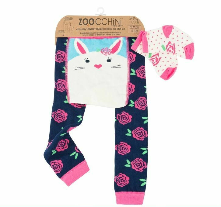 ZooCChini Bella The Bunny Legging & Sock Set