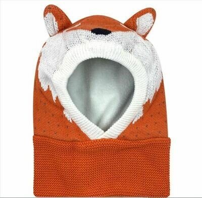 Zoocchini Fox Balaclava Hat 12-24M