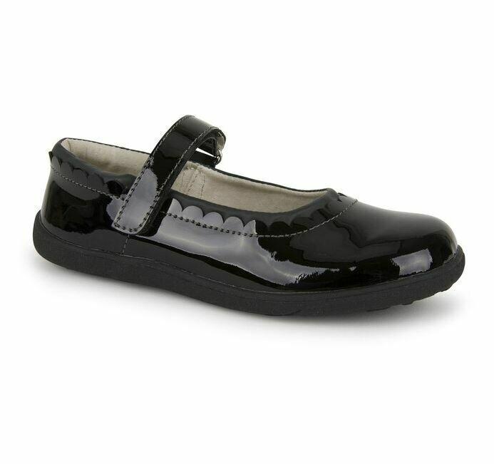 See Kai Run Jane II Black Patent Shoes