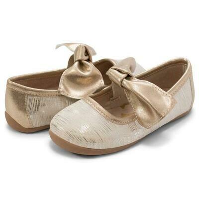 Livie & Luca Halley Cream Tinsel Shoe