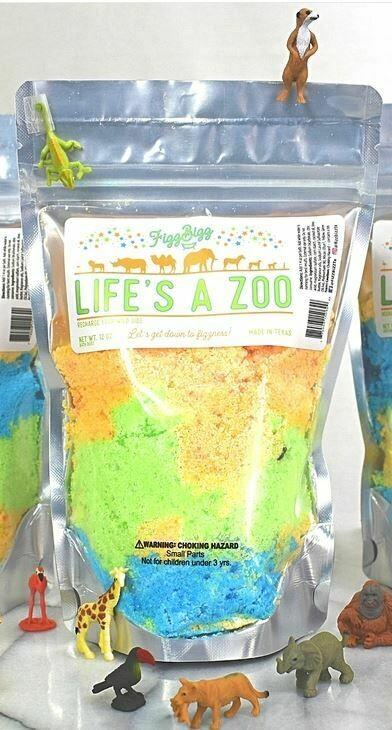 Fizz Bizz Kids Bath Salts-Life's A Zoo