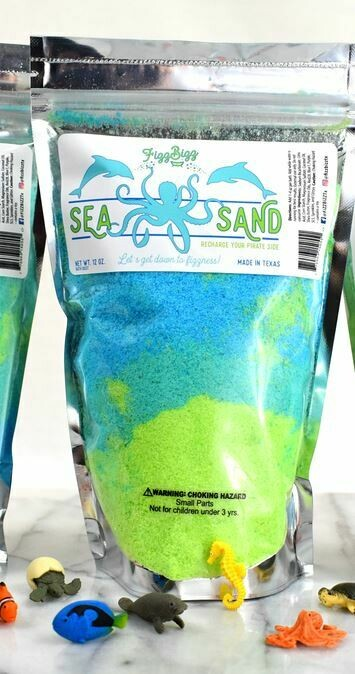 Fizz Bizz Kids Bath Salts-Sea Sand