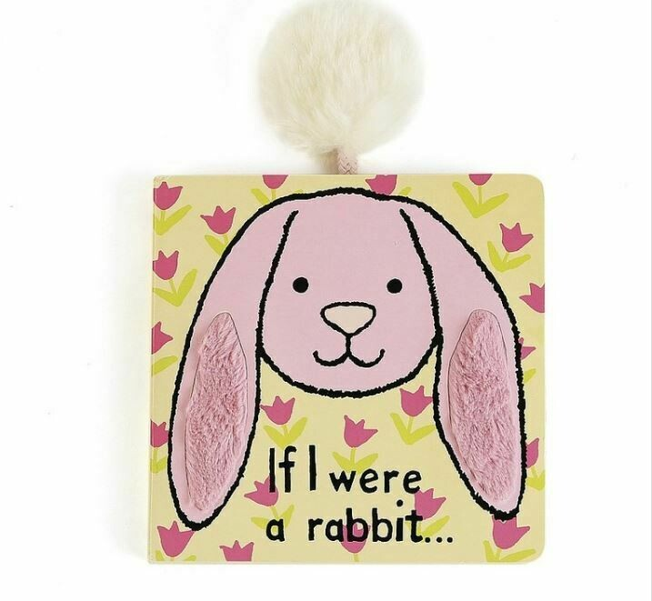 Jellycat If I Were A Rabbit Book (Tulip Pink