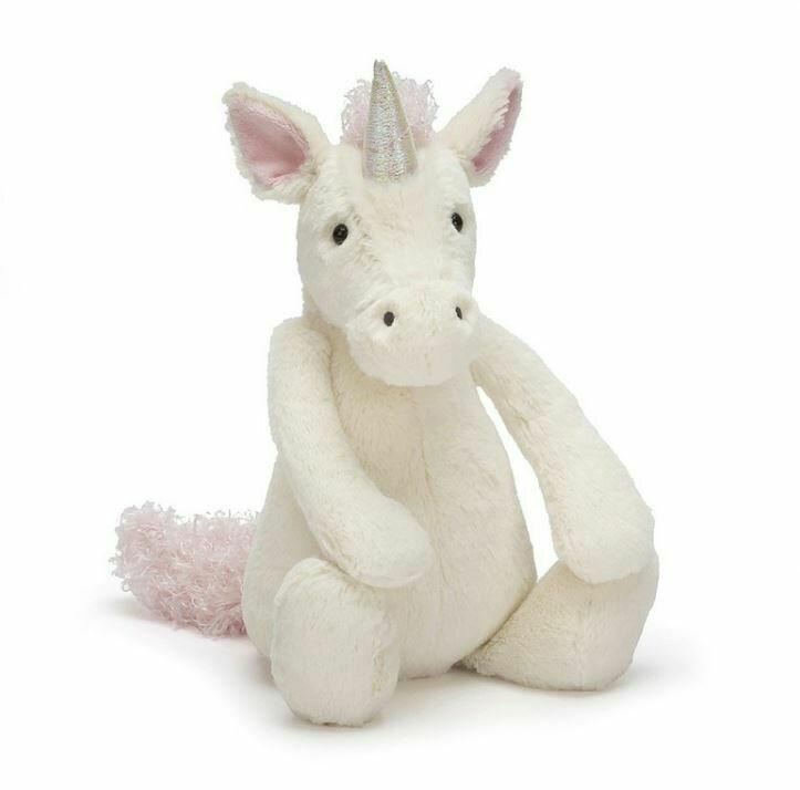"""JellyCat Bashful Unicorn Huge 21"""""""