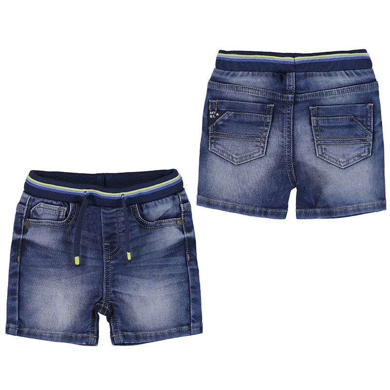 Mayoral Medium Soft Denim Shorts 1246