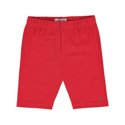 Mayoral Girls Cycling Shorts Red 3202