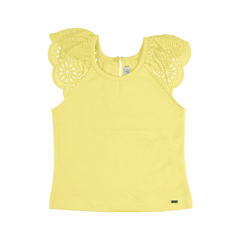 Mayoral Sleeveless T-Shirt Yellow 3026
