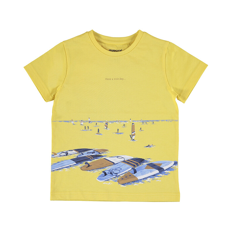Mayoral Surf S/S T-Shirt (have a nice day 3034