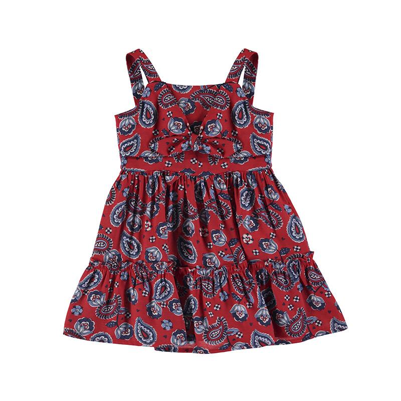 Mayoral Girls Poppy Printed Dress 3947