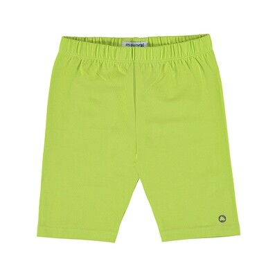 Mayoral Girls Cycling Shorts Lime 3202