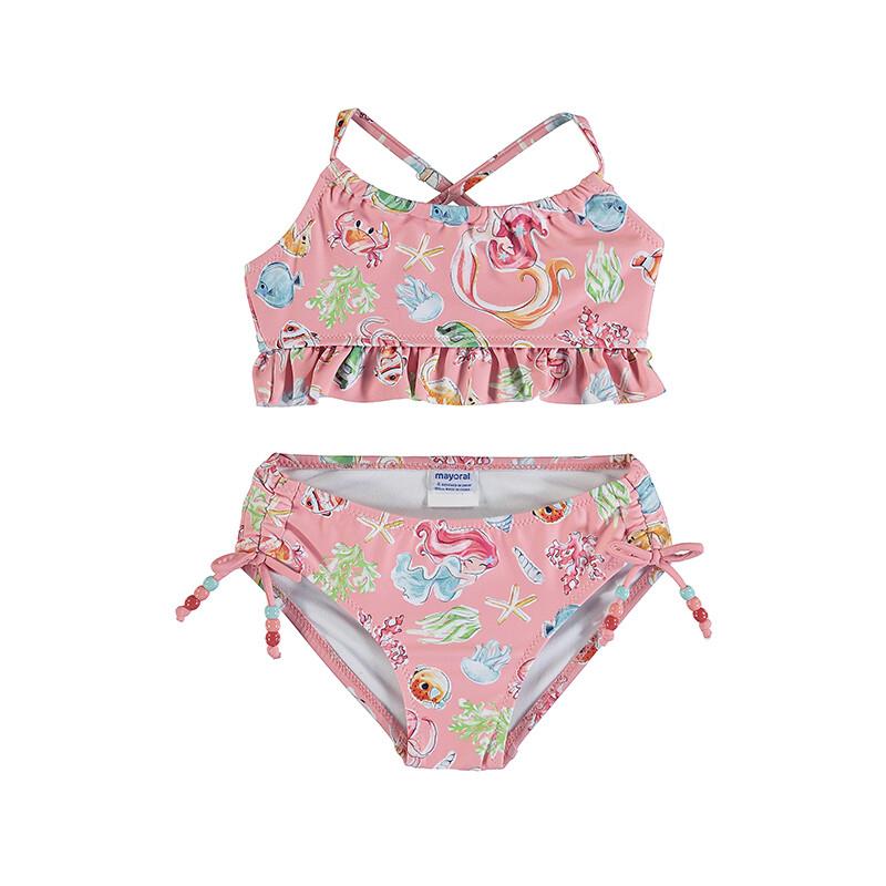 Mayoral Flamingo Printed Mermaid Bikini 3743