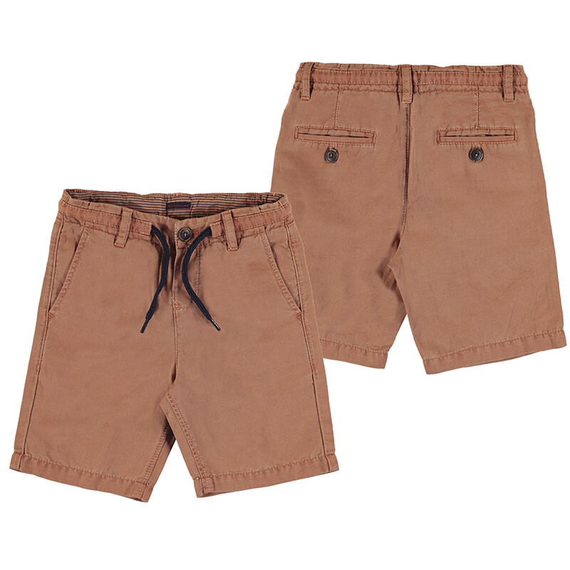 Mayoral Clay Line Twill Shorts 3224