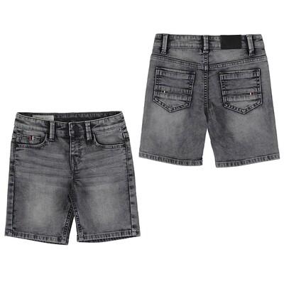 Mayoral Gray Denim Soft Shorts 3239