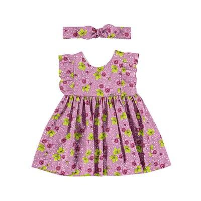 Mayoral Baby Girl Camellia Dress Set 1987