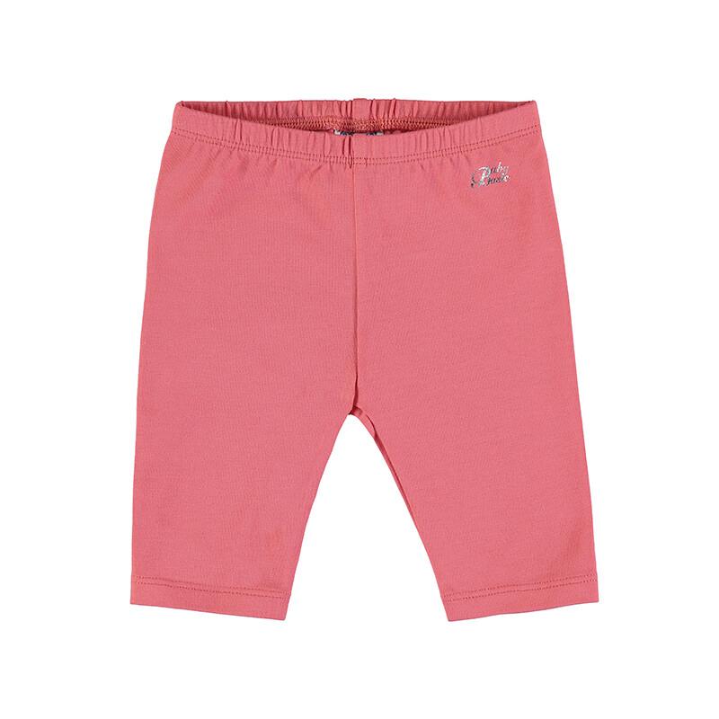 Mayoral Baby Girls Basic Short Leggings Coral 706