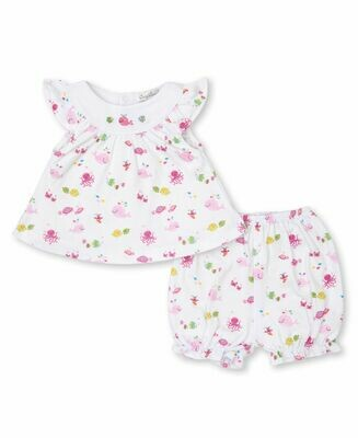 Kissy Kissy Ocean Oasis Sunsuit Set 5891I