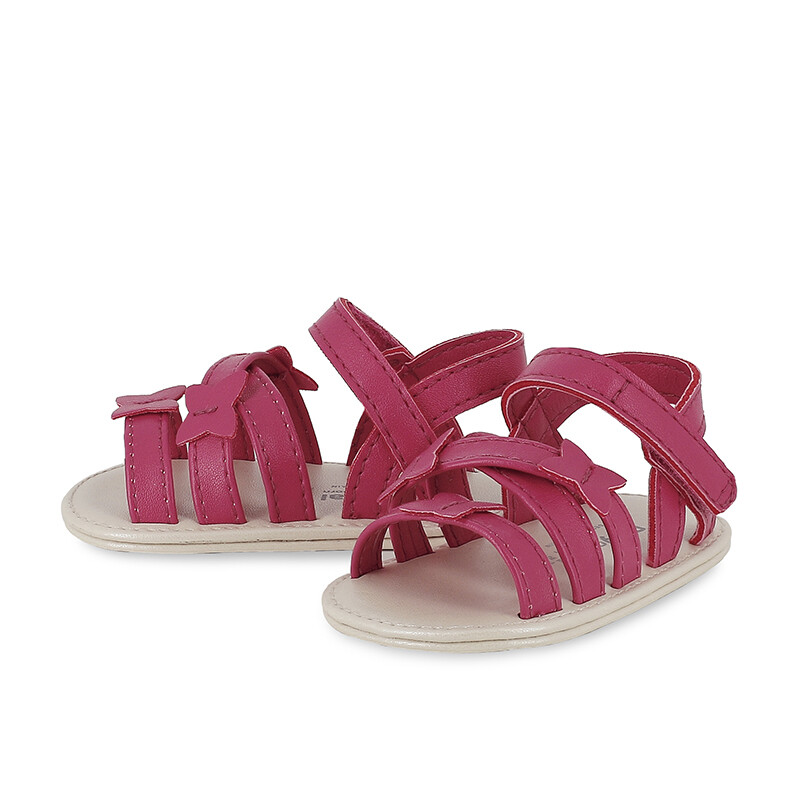 Mayoral Baby Girls Butterfly Hot Pink Sandals 9408