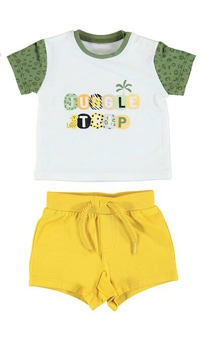 Mayoral 2pc Jungle Short Set 1657