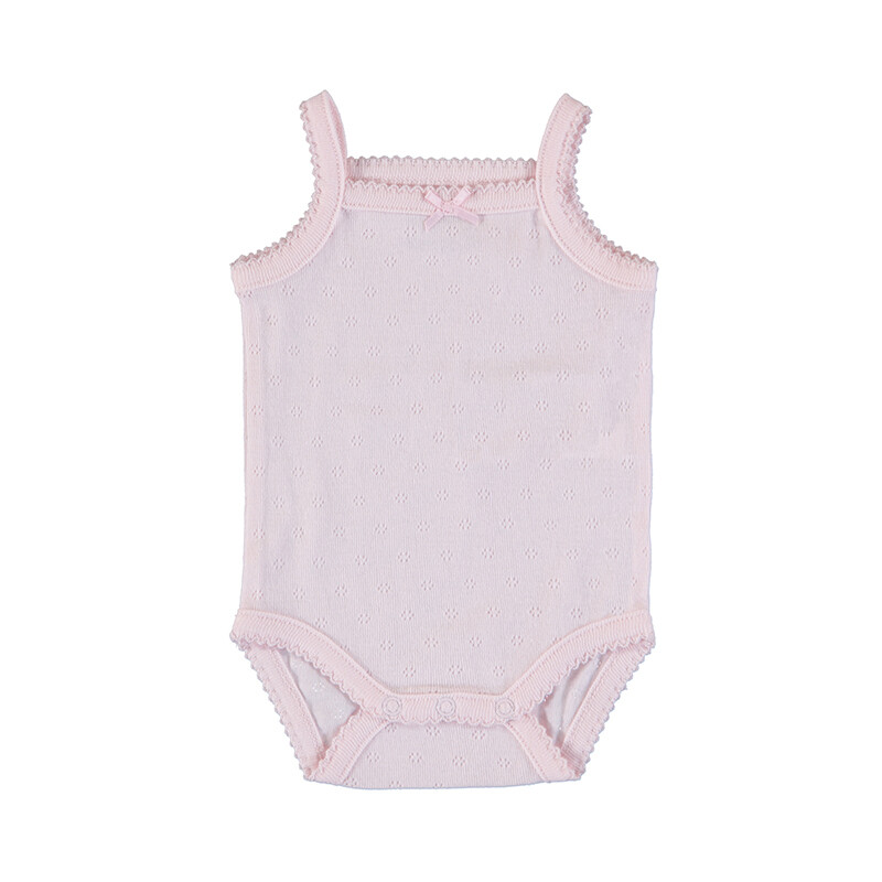 Mayoral Baby Girls Bodysuit w/Straps Baby Rose 168
