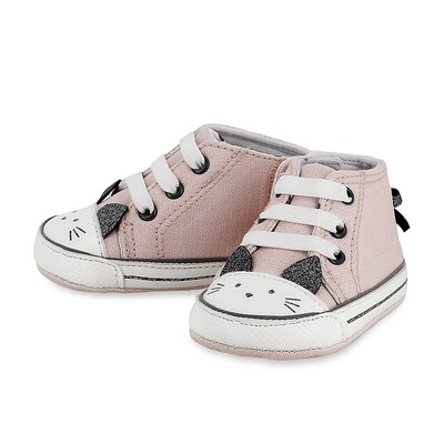 Mayoral Pale Blush Kitty Shoes 9410